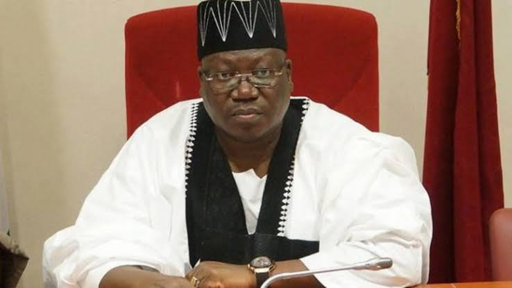 Ahmed Ibrahim Lawan meet new Nigeria's Senate President