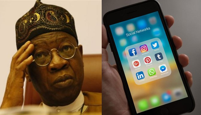 #EndSARS: FG Must Regulate Social Media – Lai Mohammed (Video)