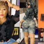 Nollywood Actress Moyo Lawal sets Internet on fire with her Twērks Wildly In Military Camo (Video