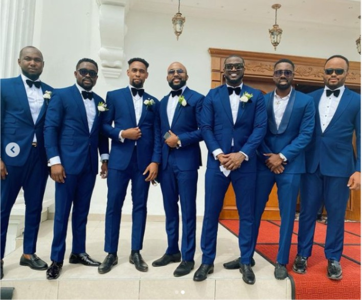 Amazing photos of AY Comedian, Peter Okoye, Falz, others at Williams Uchemba's wedding