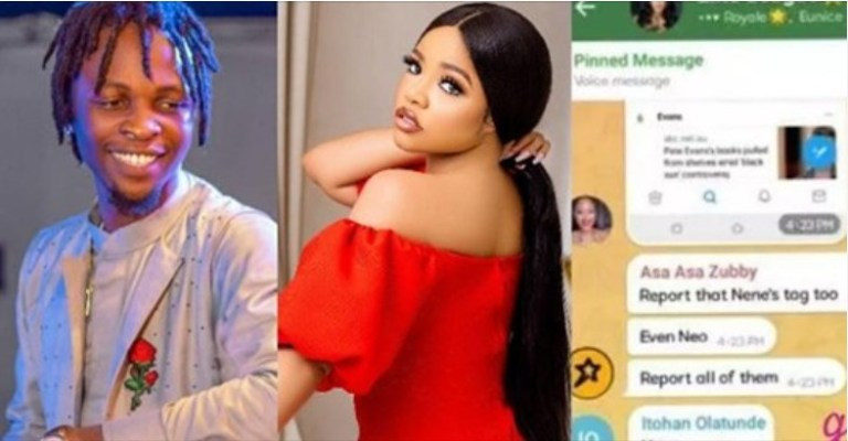 Chat Leaks On WhatsApp Group Chat Of Fans Plotting Against BBNaija Winner, Laycon And Nengi