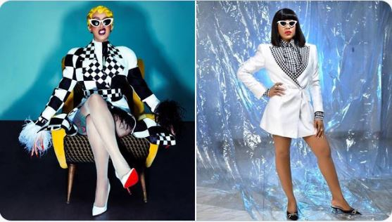 Cardi B Reacts After Comparation With BBNaija's Erica (Photo)
