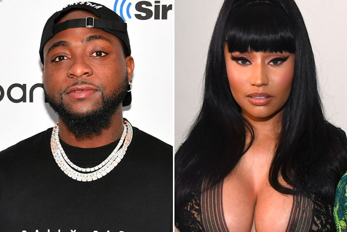 "See reaction from Davido after his collaboration, ""Holy Ground"" with Nicki Minaj breaks record"