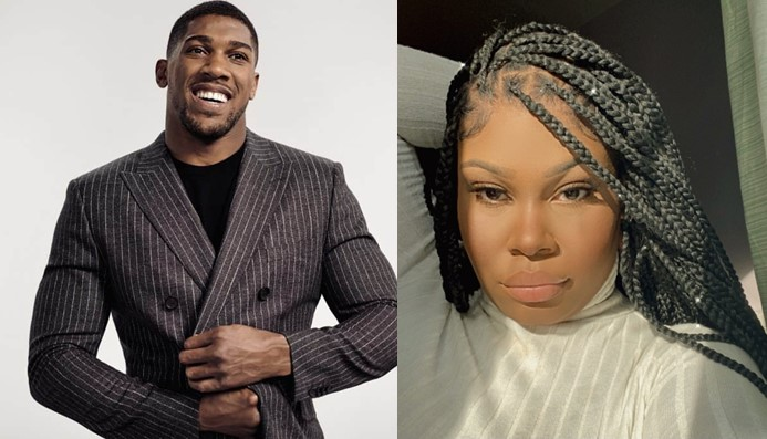 See funny chat of a lady alleging Anthony Joshua begging her for money