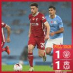 Manchester City vs Liverpool 1-1 Highlights