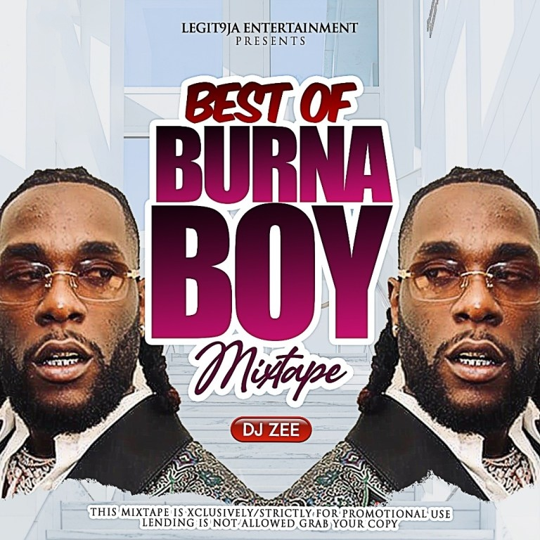 [Mixtape] Best Of Burna Boy 2020 Mix
