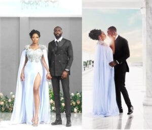 BBNaija's couple, Khafi and Gedoni tie the knot, See best wedding photos