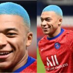 Kylian Mbappe lunches new look, check him out (Photos)