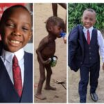 Boy called a witch, starved 5yrs ago, becomes best man at a wedding in Akwa Ibom
