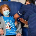 90-year-old woman becomes first to take Covid-19 Vaccine in the UK