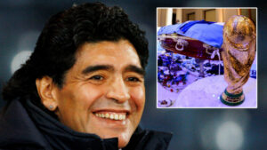 Maradona 'could be dug up, embalmed & displayed' in a museum in his dying wish