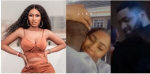Mercy Eke Finally Reveals Face Of Her Mystery Husband (Video)