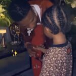 Wizkid's Son, Zion, Ask For A Sip From His Alcoholic Wine (Video)