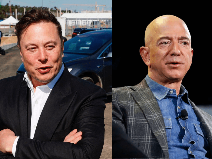 Elon Musk overtakes Jeff Bezos to become the world's richest