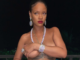 Rihanna goes topless in new sexy poolside snap