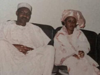 throwback photo of President Buhari