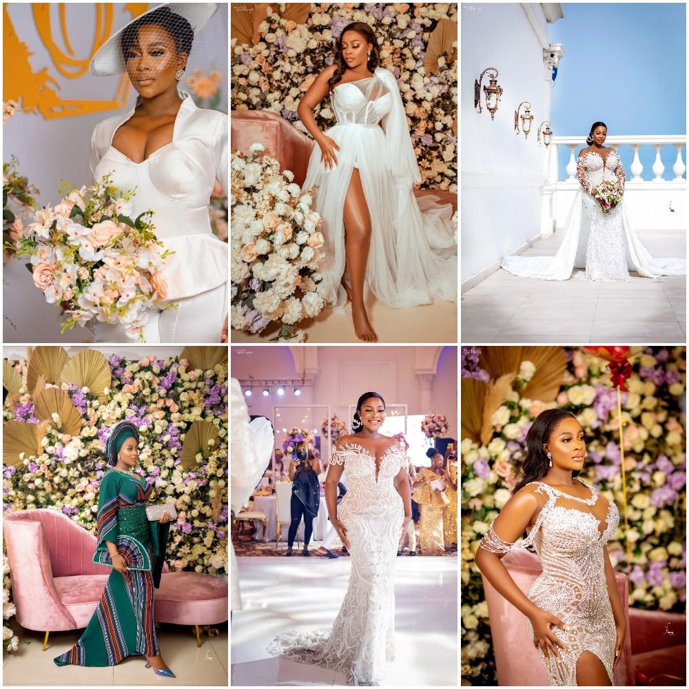Nimisola Came Through With 6 Stunning Bridal Looks Back to Back!