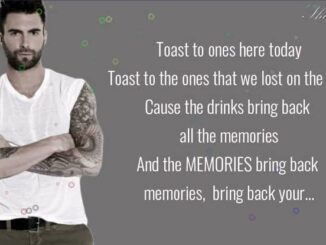 "5 ""Memories lyrics"""